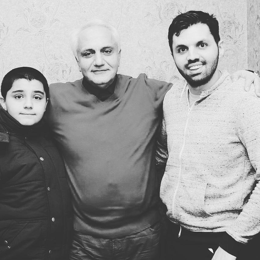 علی معلم و فرزندانش