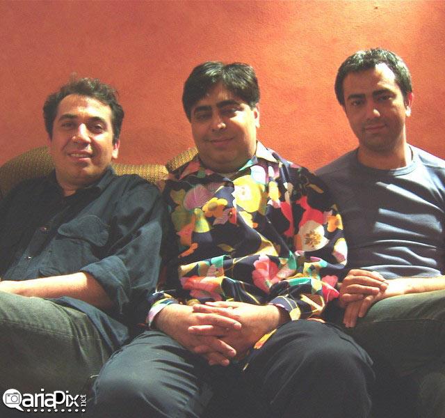 عکس قدیمی از محمدرضا هدایتی و رضا شفیعی جم و سیامک انصاری در 10 سال پیش