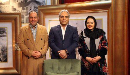 نرگس محمدی و علی اوجی در دورهمی