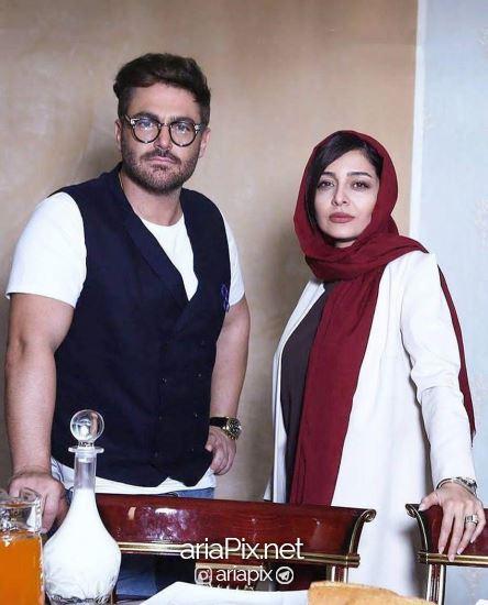 ساره بیات و محمدرضا گلزار
