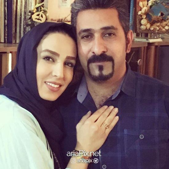 سوگل طهماسبی و همسرش