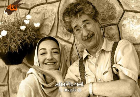 بهرام شاه محمدلو و همسرش