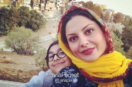 سولماز غنی و دخترش