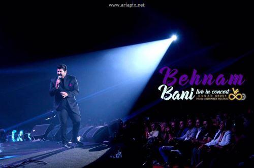 عکسهای کنسرت بهنام بانی