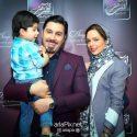 بیوگرافی احسان خواجه امیری و همسرش لیلا ربانی و پسرشان ارشان +عکسها و گفتگو