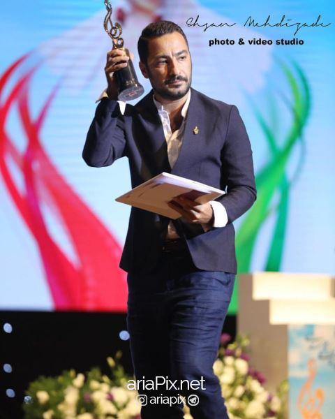 نوید محمدزاده در جشن حافظ
