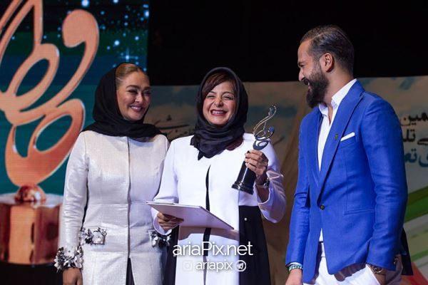 بهترین بازیگر زن جشن حافظ 96