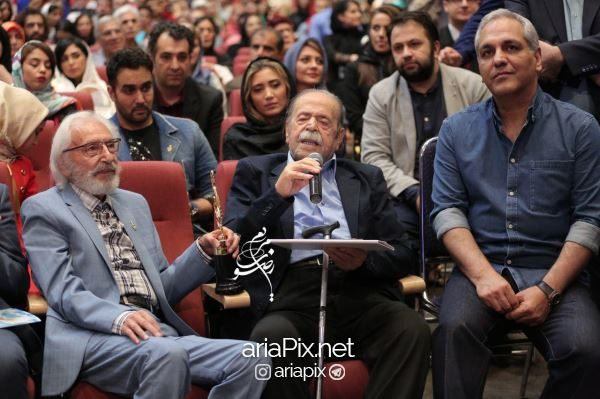 مهران مدیری در جشن حافظ 96