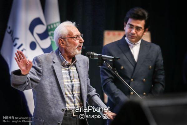 جمشید مشایخی جشن انجمن منتقدان سینما