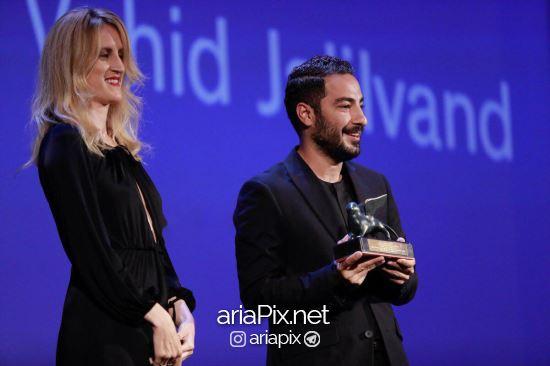 نوید محمدزاده برنده جایزه بهترین بازیگر مرد از جشنواره ونیز 2017