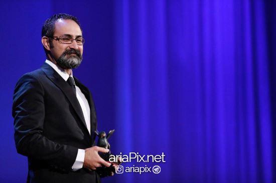 وحید جلیلوند برنده جایزه بهترین کارگردانی از جشنواره ونیز 2017