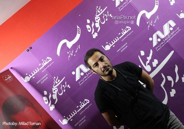 نوید محمدزاده در سینما هویزه مشهد