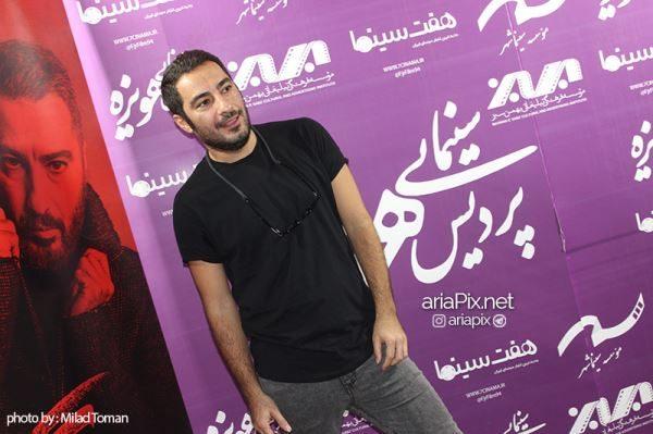 نوید محمدزاده در مشهد