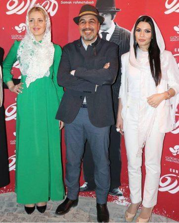 رضا عطاران و بازیگران زن خارجی فیلم مصادره