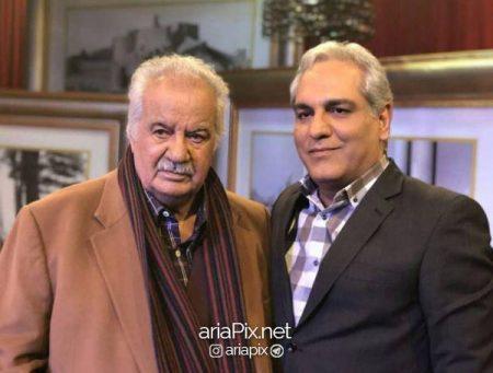 ناصر ملک مطیعی و مهران مدیری