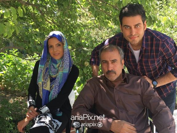احمد پور خوش در پشت صحنه فیلم آنام