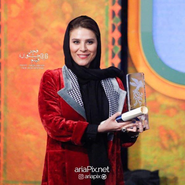 سحر دولتشاهی بهترین بازیگر زن جشنواره فجر