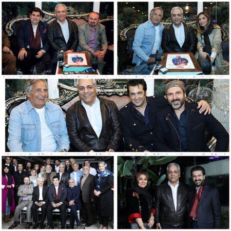 جشن تولد 51 سالگی مهران مدیری