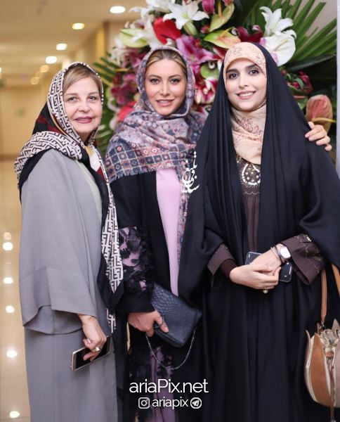 maryamsoltani02 - عکسهای بازیگران زن در افتتاحیه سالن زیبایی مریم سلطانی