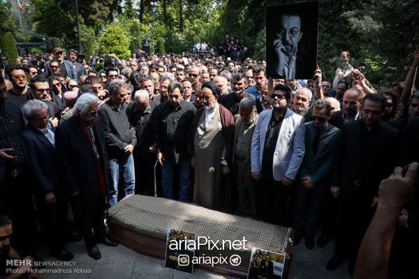 tashei04 - عکسهای مراسم تشییع جنازه ناصر چشم آذر +ویدیو