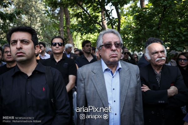 tashei08 - عکسهای مراسم تشییع جنازه ناصر چشم آذر +ویدیو