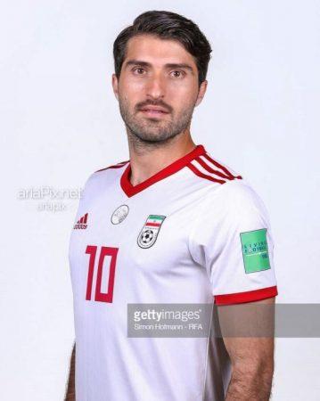کریم انصاری فرد در تیم ملی