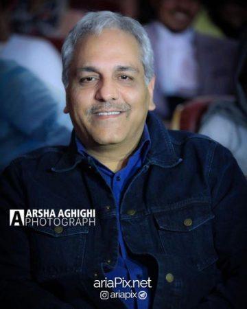 مهران مدیری در اکران خصوصی فیلم هزارپا