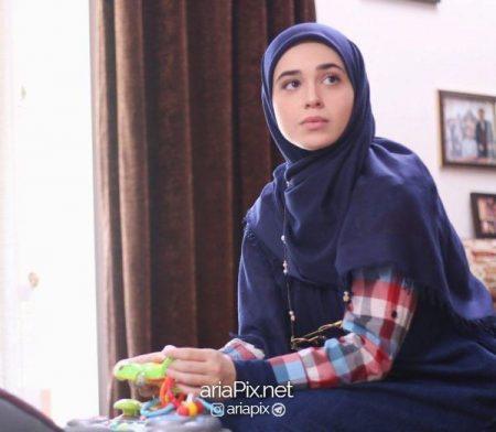 مهتاب شیروانی بازیگر نقش عاطفه در سریال پدر