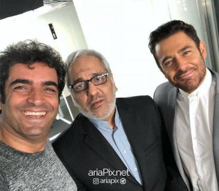 سلفی منوچهر هادی کارگردان فیلم با رضا گلزار و مهران مدیری