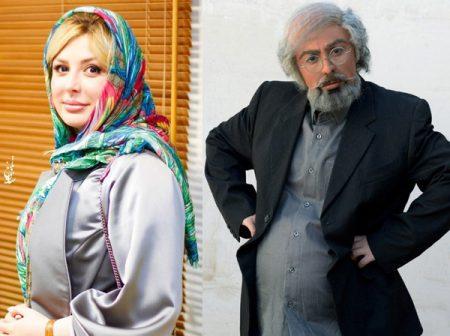 گریم مردانه نیوشا ضیغمی در فیلم هشتگ