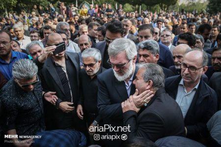 تشییع جنازه بهرام شفیع