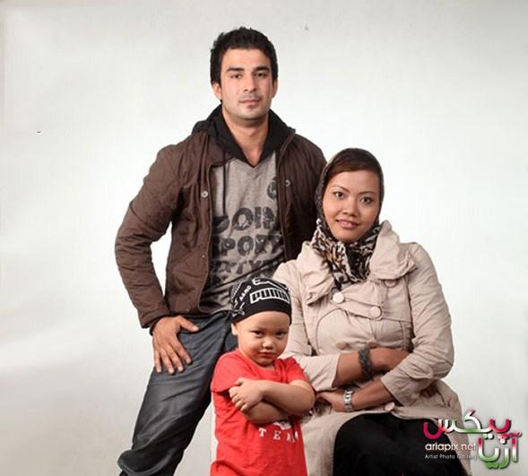 راپان تیموری واقف همسر یوسف تیموری و پسرشان آرمین