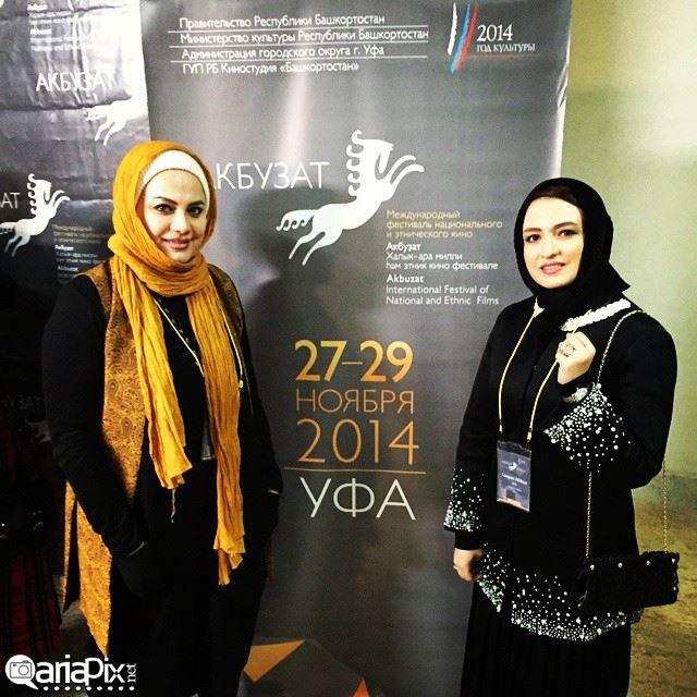 گلاره عباسی و نرگس آبیار در جشنواره فیلم اسب نقره ای در کشور روسیه