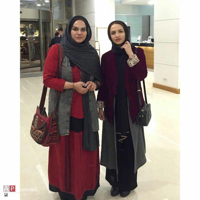 گلاره عباسی و نرگس آبیار در باکو