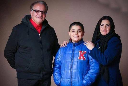 علی معلم و همسرش