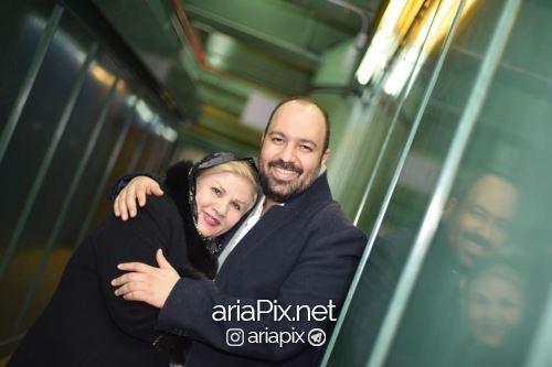 عکس علی اوجی و مادرش