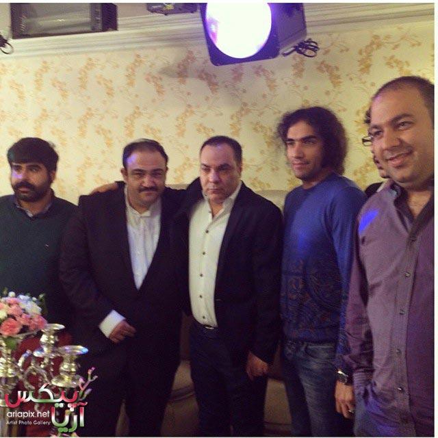 مهران غفوریان ازدواج کرد + عکس جشن عروسی مهران غفوریان