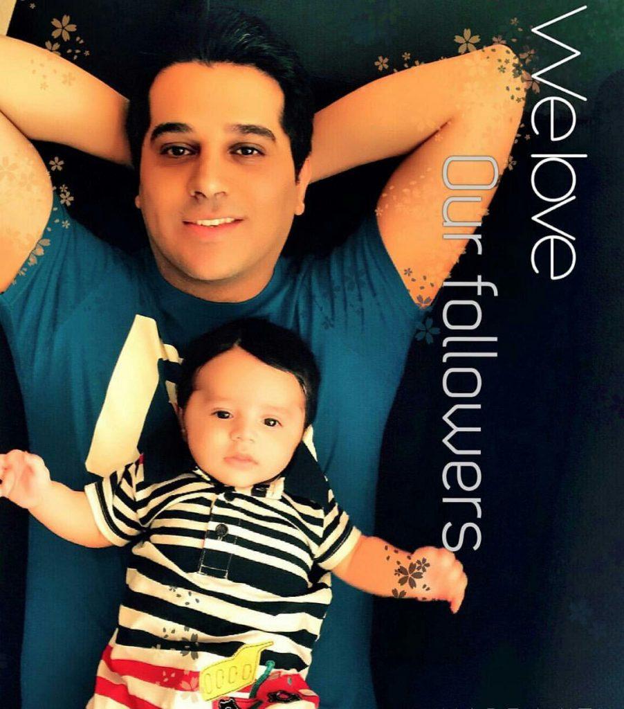 حمید عسکری و پسرش کارن