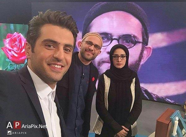 بابک حمیدیان و همسرش مینا ساداتی