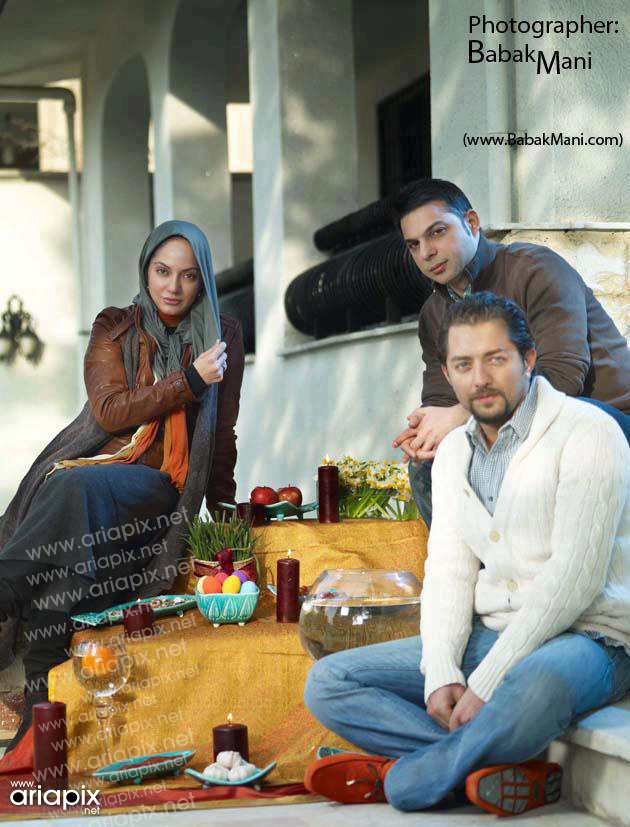 bahram-peiman-mahnaz مهناز افشار و بهرام رادان و پیمان معادی