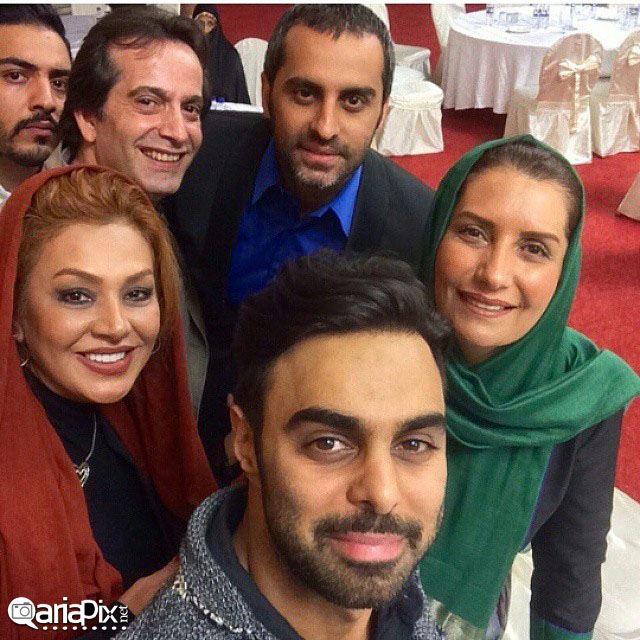 بازیگران در جشن عید غدیر 93