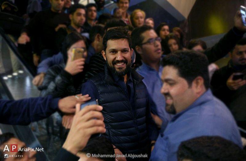 حامد بهداد در سینما هویزه مشهد