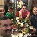 عکسهای شقایق دهقان و همسرش مهراب قاسمخانی در چین