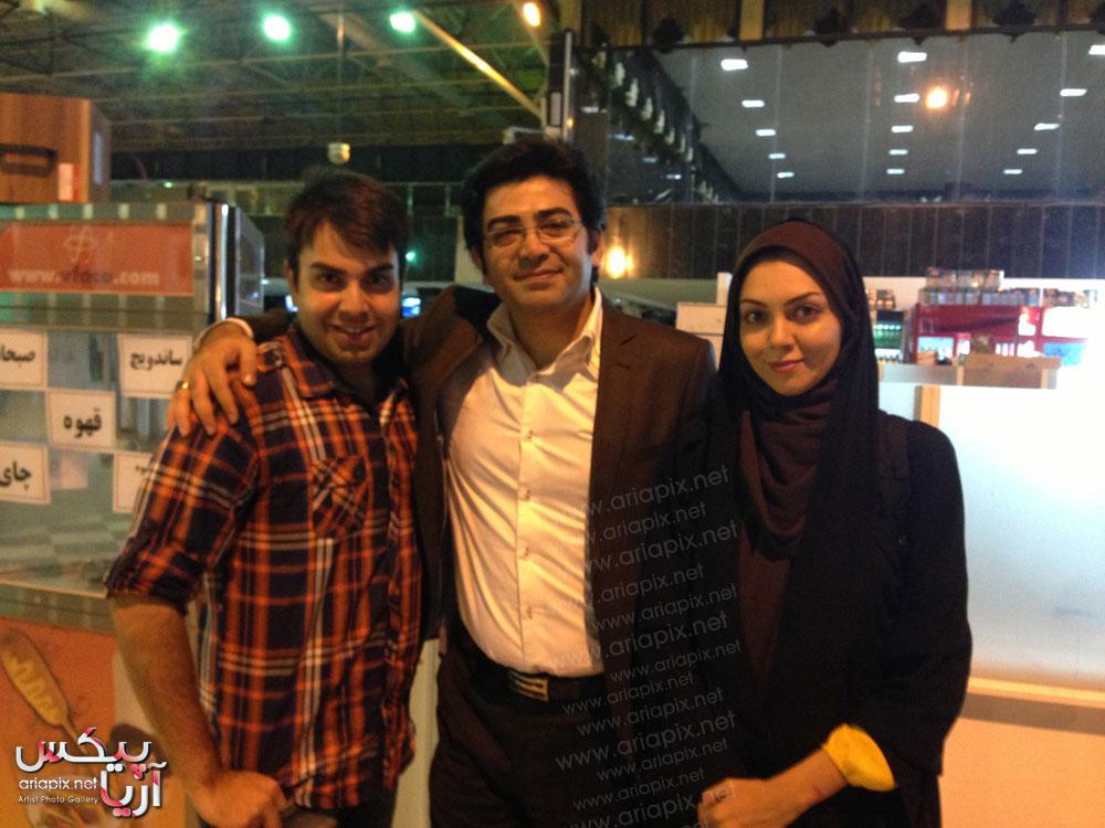 جدیدترین عکس از فرزاد حسنی و همسرش آزاده نامداری بعد از ازدواج