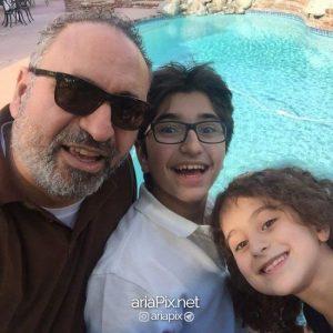 حمید فرخ نژاد و فرزندانش