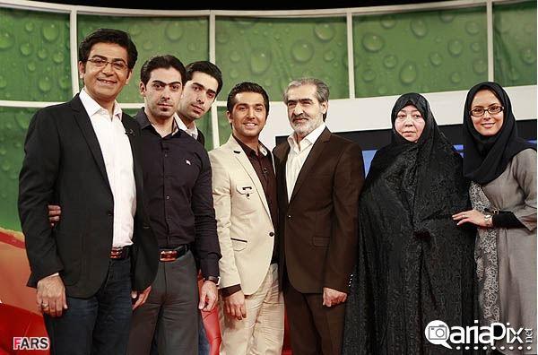 فرزاد حسنی و پدر مادرش ,خانواده فرزاد حسنی