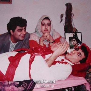 فاطمه هاشمی ,فاطمه هاشمی و همسرش ,بیوگرافی فاطمه هاشمی
