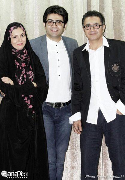 فرزاد حسنی و همسر جدیدش