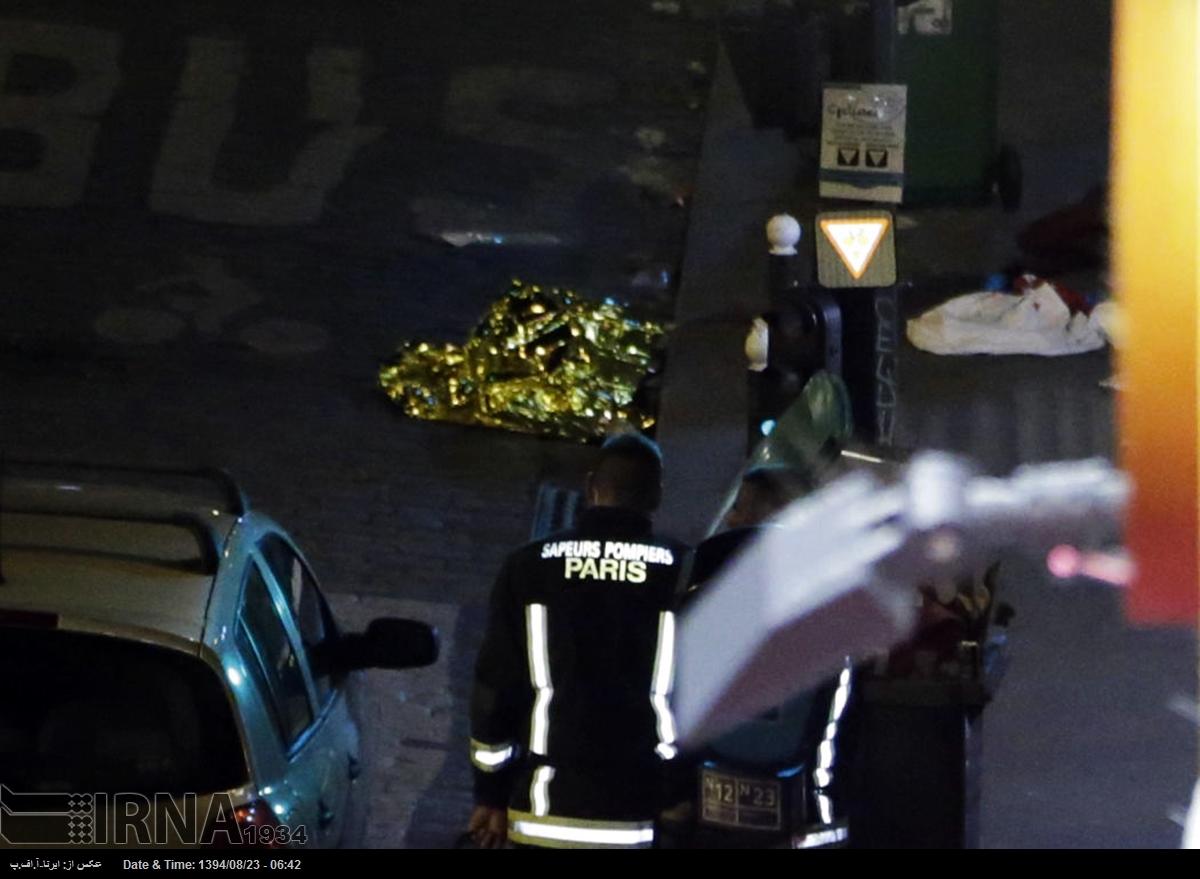 عکسهای حملات تروریستی فرانسه