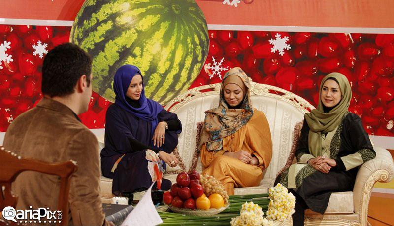 شبنم قلیخانی و خواهر و خواهر زاده اش عکس جدید